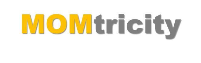 momtricity text logo