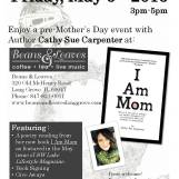 I Am Mom Book Signing at Beans and Leaves 5-6-2016